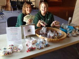 CuriOdyssey's Animal Keepers selling baked goods for Zoo Keeper Appreciation Week.