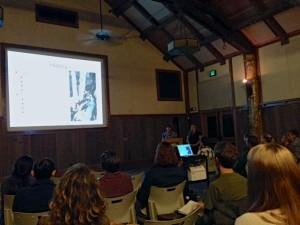 A presentation at the 2013 Fall Mini Conference held at San Francisco Zoo. Photo by Lisa Clifton-Bumpass